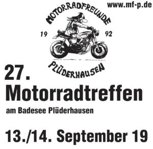 27. MFP Motorradtreffen @ Badeseen Plüderhausen