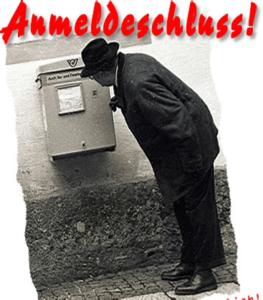 Anmeldeschluß für Eisen-Arsch-..